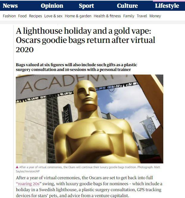 The Guardian - Dr Su & the 2021 Oscars