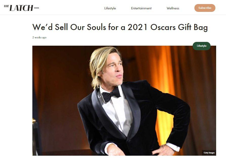 The Latch 2021 Oscars Arm Liposuction Gift
